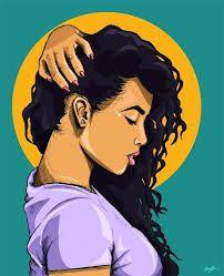 "Stream [FREE] Bryson Tiller x Jhene Aiko Type Beat 2018 ""EXCHANGE"" Smooth R&B Beat Instrumental by Sylvester Beats from desktop or your mobile device Black Girl Art, Black Women Art, Black Art, Art Girl, Arte Dope, Dope Art, African American Art, African Art, Illustrations"