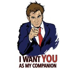 Companion Recruitment 10 T-Shirt $10 Doctor Who tee at RIPT today only!