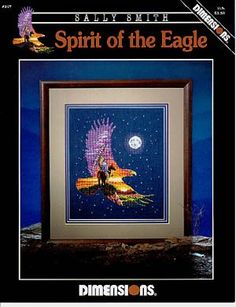 Amazon.com: Spirit Of The Eagle - Cross Stitch Pattern: Home & Kitchen