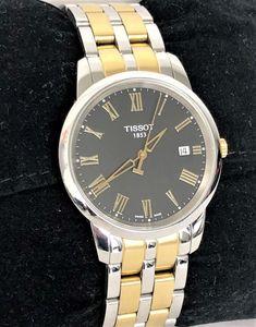 Tissot Classic Dream Bicolor/Schwarz ID: - AV-Pfandhaus Shop Gold Watch, Omega Watch, Michael Kors, Watches, Classic, Shop, Accessories, Sapphire, Wristlets