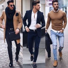 Left Middle or Right? #whattowear #fashion #fashionpost #ootd #mensfashion #menswear #menstyle #gentleman #style #styling #stylist #dope #fitted #gym #choose #choices