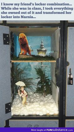 The Lion, The Witch and The Locker on imgfave