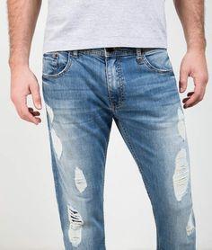 648ed1740 9 melhores imagens de bolso calça jeans | Flare leg jeans, Men's ...