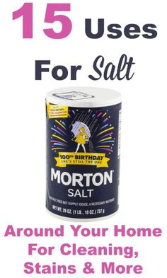 Odds are that every kitchen in America contains salt in some form. Did you know that it's more versatile than just a seasoning for food? There are a lot of ways to use table salt around your home: it helps get rid of odors, is a great abrasive for cleaning and even works as a stain remover. The best part is that salt is natural, inexpensive, and eco-friendly. Want to learn more? Read on as eBay shares 15 uses for table salt and try them for yourself!