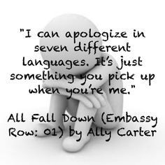 All Fall Down Ally Carter I Love Books, Good Books, Books To Read, My Books, Heist Society, All Falls Down, Gallagher Girls, Girls Series, Totally Awesome