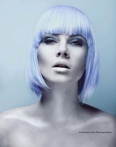 "Photo ""Don't you love me?"" by Amanda Diaz ( Pinterest Design, Sleek Hairstyles, Creative Hairstyles, Pastel Hair, Purple Hair, Pastel Blue, Periwinkle Fairy, Amanda Diaz, Kajal"