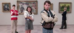 Cam, Sloane, and Ferris visit the museum in 1986. : OldSchoolCool