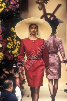 Supermodel Anna Getaneh - YSL Couture