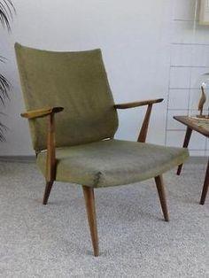 Vintage fauteuil jr 50 60! Retro sixties design stoel Deens?