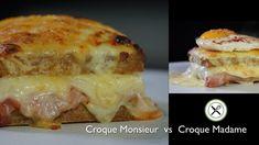 Croque Monsieur vs Croque Madame – Bruno Albouze – THE REAL DEAL