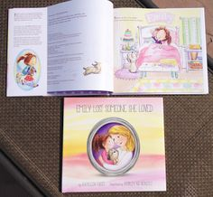 Grief Book for Kids - We Love to Illustrate: Show and Tell features Emily Lost Someone She Loved, illustrated by the very talented Shirley Ng-Benitez and written by Kathleen Fucci.  http://www.kathleenfucciministries.org/emily  #grief #loss #hope