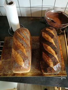 Franskbrød - 2. Stk. Bread And Pastries, Bread Baking, Bread Recipes, Bakery, Food And Drink, Yummy Food, Snacks, Flutes, Breakfast Ideas
