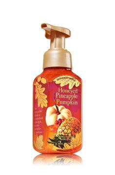 Honeyed Pineapple Pumpkin Gentle Foaming Hand Soap - An irresistible blend of caramelized pineapple, creamy pumpkin & molasses