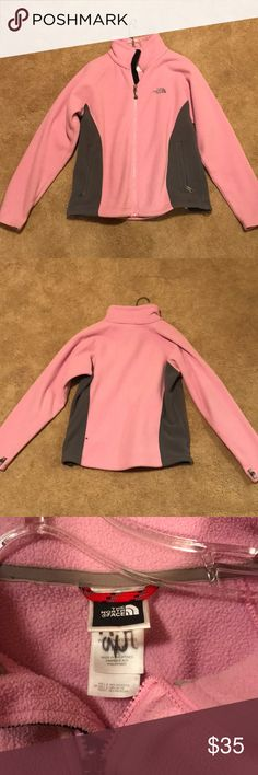 Pink North Face Jacket Great used condition. North Face Jackets & Coats
