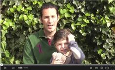 c'est l'histoire d'un papa qui se bat pour son petit héro, Basile, 3 ans atteint de la mucoviscidose. #muco2014