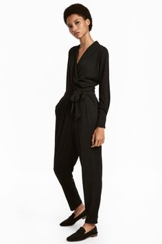 H&M Jumpsuit Casual Office Outfits for women Miss Louie