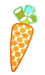 Carrot Applique - 3 Sizes! | Easter | Machine Embroidery Designs | SWAKembroidery.com Kimberbell Kids