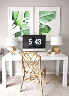Tropical Desk!