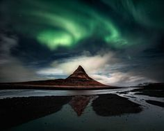 The Land of the Enchanting Lights - The third picture of my first series from my…
