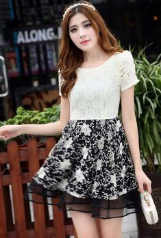 Summer Women Chiffon Dress