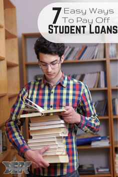 7 Interesting Ways to Pay Off Your Student Loan #Debt - Student Loan Repayment, Debt payoff http://www.debtroundup.com/7-interesting-ways-pay-down-student-loan-debt/