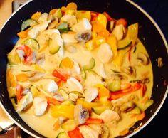 Rezept Gemüsepfanne mit Kokos-Currysoße von S1712 - Rezept der Kategorie…