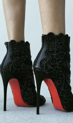 Christian Louboutin So Love these booties❤️❤️❤️❤️❤️ Stilettos, High Heels, Pumps, Christian Louboutin Heels, Louboutin Shoes, Shoes Heels, Hot Shoes, Crazy Shoes, Me Too Shoes