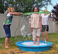 Hula Hoop Bubble Wand