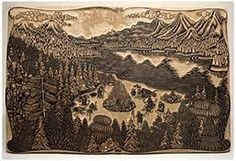Image result for block prints
