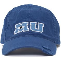 7da74451459 Disney Park M U Monsters University Adult Size Baseball Hat Cap NEW ( 32) ❤  liked