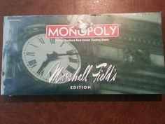 Marshall Field's Edition Monopoly Board Game Brand NEW Sealed in Box Chicago…