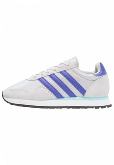 adidas Originals. HAVEN - Trainers - solid grey/purple/clear aqua. Care instructions:treat with a suitable protector before wear. Sole:synthetics. Shoe tip:round. Padding type:Cold padding. Heel type:flat. Lining:textile. detail:decorative seams. shoe fastener:lac...