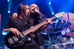 John Myung and JamesLaBrie of Dream Theater Live at The Fillmore
