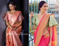 bell sleeves blouse design for siilk sarees Informations About New Blouse Desig. - bell sleeves blouse design for siilk sarees Informations About New Blouse Designs 2019 – Latest - Sari Design, Silk Saree Blouse Designs, Fancy Blouse Designs, Sari Blouse, Blouse Neck, Saree Dress, Bell Sleeve Blouse, Bell Sleeves, Latest Silk Sarees