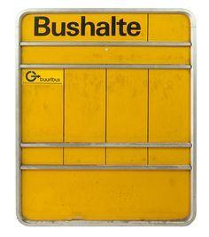 bushaltebord