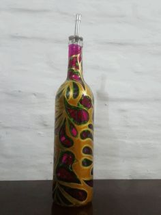 Oil bottle dispenser