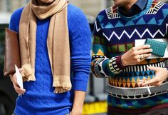 Great sweaters.