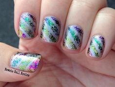 ILNP Ultra Chrome Flakies nail vinyl nail art