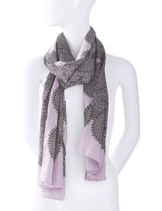 Silky Tile Print Scarf from THELIMITED.com