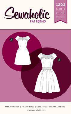 Sewaholic Patterns - Cambie Dress PDF Pattern, $12.01 (http://www.sewaholicpatterns.com/cambie-dress-pdf-sewing-pattern/)