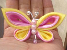 Kanzashi--- butterfly