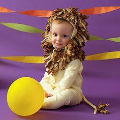 How to make a diy lion halloween costume upsized a million times halloween recipes baby lion costumelion solutioingenieria Choice Image