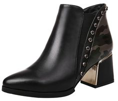 ELEHOT Womens Elefuel 6CM mid-heel Boots * This is an Amazon Affiliate link. Check out the image by visiting the link.