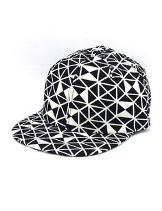 e17e45020c7 Geometrical Triangle Snapback Hat (White) Korean Hip Hop Fashion Snapbacks    Hat   Cap