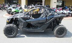 New 2017 Can-Am Maverick X3 X DS Turbo R ATVs For Sale in Florida. 2017 Can-Am Maverick X3 X DS Turbo R, 2017 Can-Am® Maverick X3 X DS WARP TIME AND TERRAIN <p>The X3 X ds Turbo R is all about control, with fully-adjustable FOX 2.5 Podium RC2 HPG Piggyback shocks, with front and rear dual-speed compression and rebound settings for unparalleled flexibility on any terrain, with any driving style.</p> Features may include: <ul><li>154 hp turbocharged and intercooled Rotax® ACE…