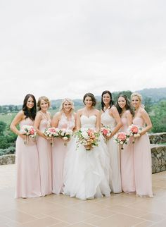 Photography: KT Merry   ktmerry.com Bridesmaids' Dresses: Amsale   amsale.com   View more: http://stylemepretty.com/vault/gallery/26487