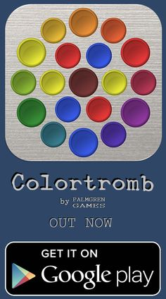 Our first game is now available! https://play.google.com/store/apps/details?id=com.palmgrengames.colortromb #Colortromb #PuzzleGames #PalmgrenGames
