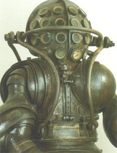 Diving suit. Robot