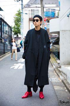 Minimalist Harajuku Street Fashion w/ Comme des Garcons, Rick Owens & WARE-mo-KOU
