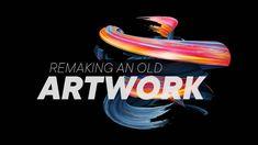 Remaking an old artwork - 4K